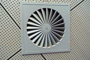 exhaust fan in ceiling