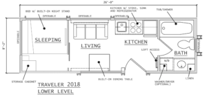Read more about the article 2 & 3 Bedroom Tiny House Plans Roundup: Great For Families