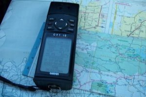 GPS location device with information on its screen, from rsvstks of FreeImages