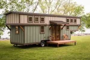 Read more about the article Max Size & Weight For A Tiny House On Wheels Without Permits